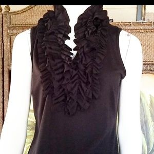 Milano ruffled tank top